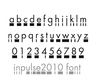 In Pulse typeface